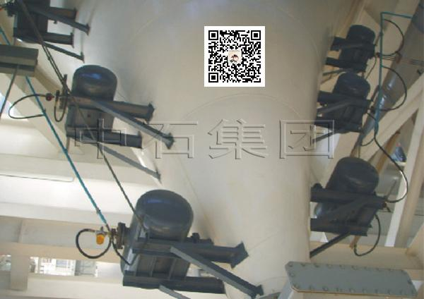 空气炮厂家安装案例-中石空气炮