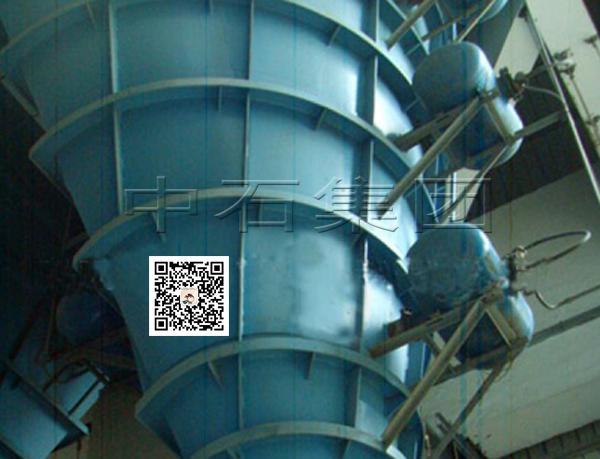 破拱器安装案例-中石空气炮