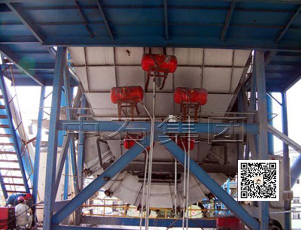 空气炮安装案例-中石空气炮