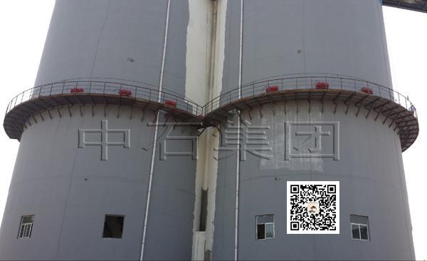 原煤仓空气炮安装案例