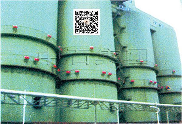 原煤仓空气炮(破拱器)安装案例