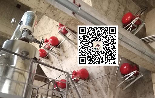石膏仓清堵装置安装案例