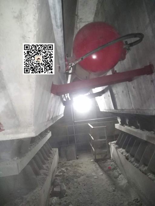 水泥厂清堵装置安装案例